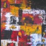 Nr.5  Farbspiel (2) 70x100cm(Das Bild ist mit einem Rahmen versehen)Nr.5  Farbspiel (2) 70x100cm