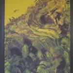 Nr.9 ( ohne Titel) 50x70 cm (Acryl auf Leinwand mit Rahmen)